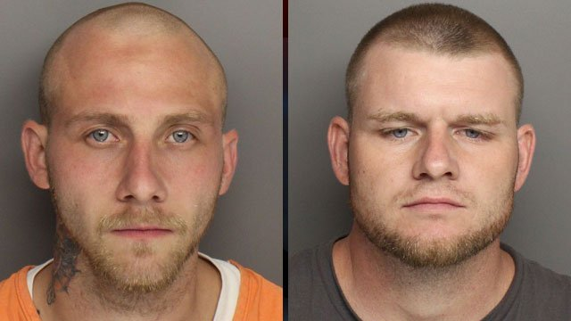 Casey Finley (left) and Jeffrey Wooley (right). (Greenville Co. Sheriff's Office)