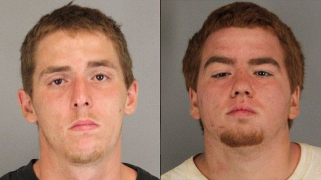James (left) and William (right) White (Spartanburg Co. Detention Center)