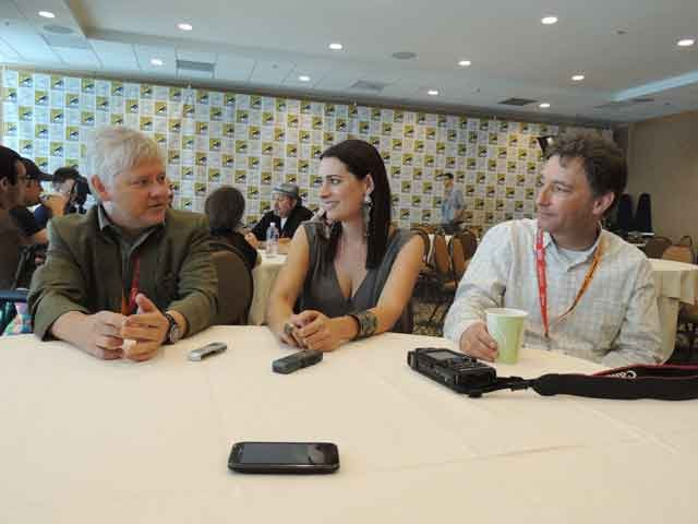 Dan vs. (L to R) Dave Foley, Paget Brewster, Tom Kenny