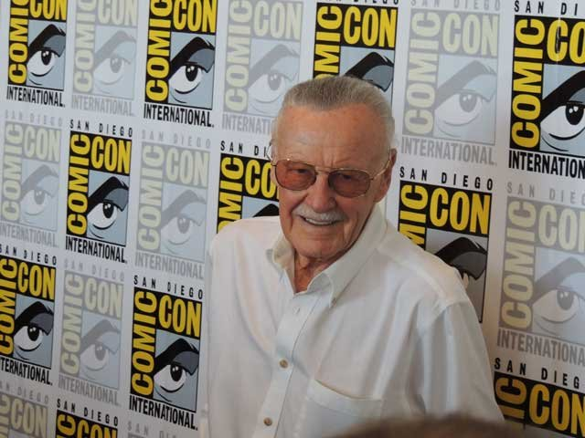 The most demanded man at Comic-con Stan Lee