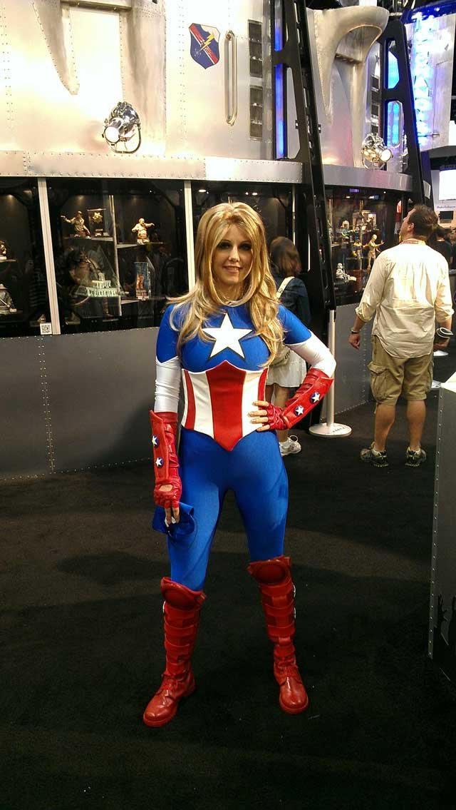 I'm not opposed to a female Captain America