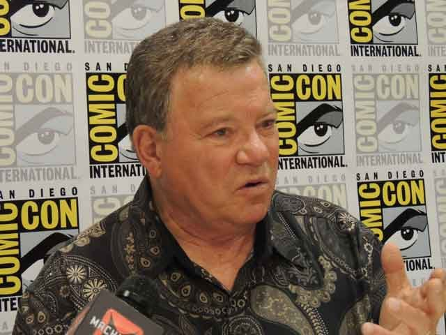 William Shatner talking about his new film:  Get A Life!