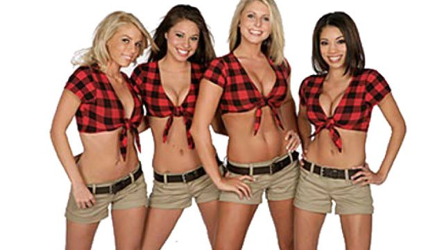 Some of the Twin Peaks girls. (Courtesy Twin Peaks)