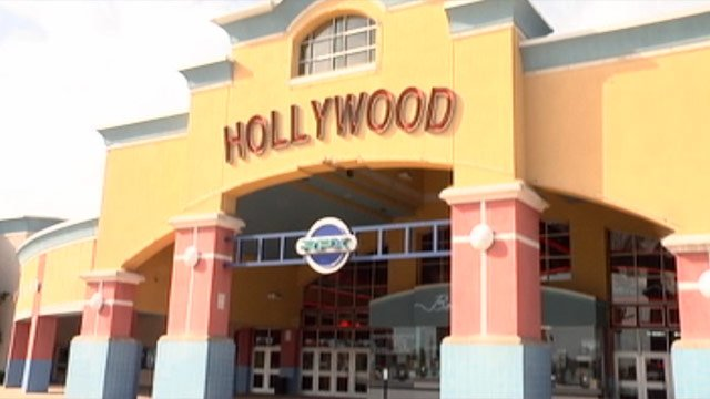 The Regal Hollywood 20 theater is located on Woodruff Road in Greenville. (File/FOX Carolina)