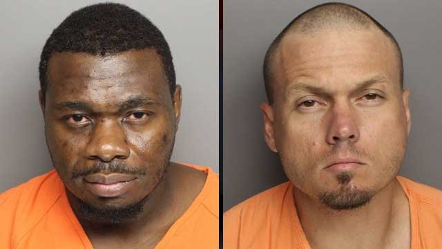 Quincy Walker (left) and James Patterson. (Greenville Co. Sheriff's Office)