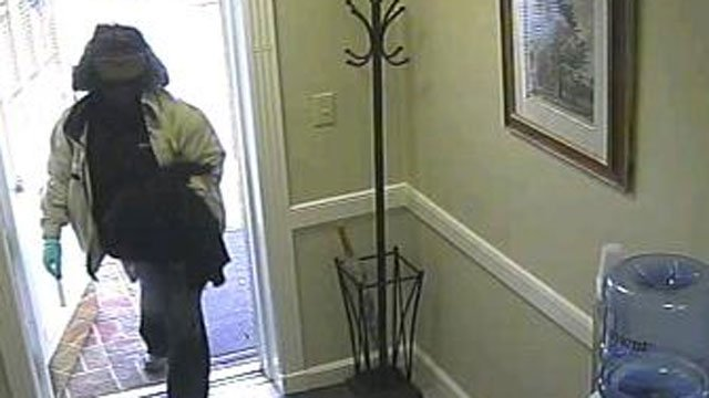 Deputies say this person robbed an Arden bank. (July 31, 2012/Buncombe Co. Sheriff's Office)