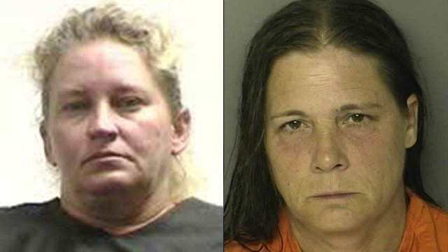Brenda Branham (left) and Carolyn Rodriguez. (Pickens Co. & Horry Co. detention centers)