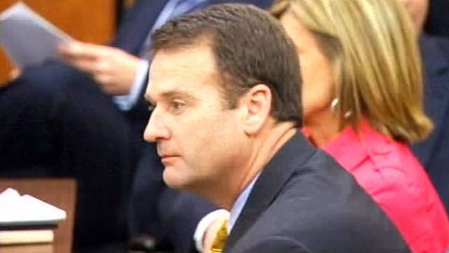 Former Lt. Gov. Ken Ard listens to a judge in a Richland County courtroom. (File/FOX Carolina)