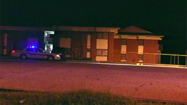 Prince Hall Apartments where police said the victims were shot. (Aug. 14, 2012/FOX Carolina)