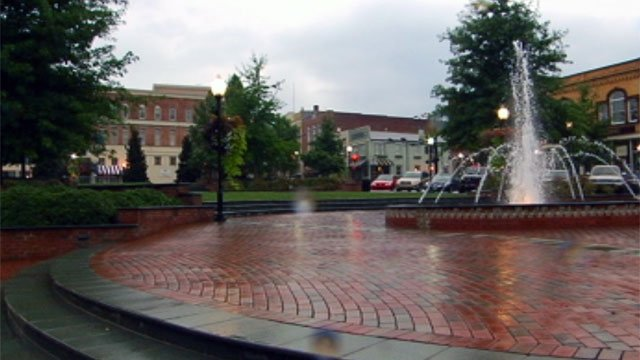 Morgan Square is located in downtown Spartanburg. (File/FOX Carolina)