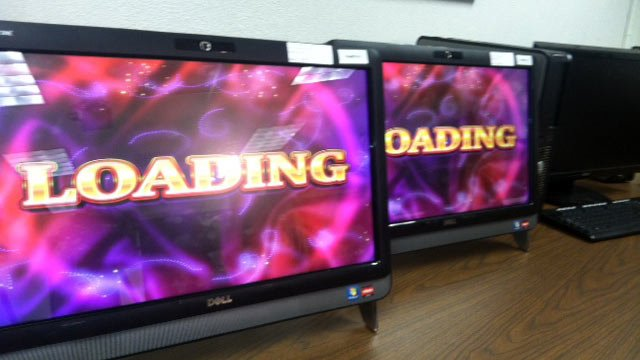 Some of the illegal gaming machines seized by deputies. (Aug. 16, 2012/FOX Carolina & Greenville Co. Sheriff's Office)