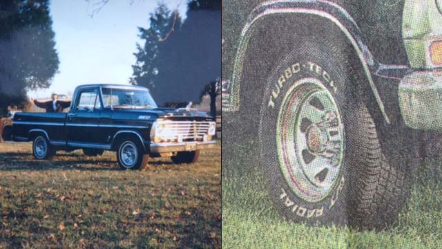 The stolen Ford truck deputies are looking for. (Spartanburg Co. Sheriff's Office)