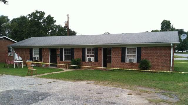 Police say they found the burned man at a Fountain Inn duplex. (Aug. 17, 2012/FOX Carolina)