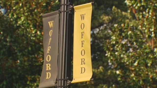 Wofford College is located in downtown Spartanburg. (File/FOX Carolina)