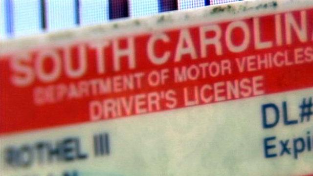 A South Carolina driver's license. (File/FOX Carolina)