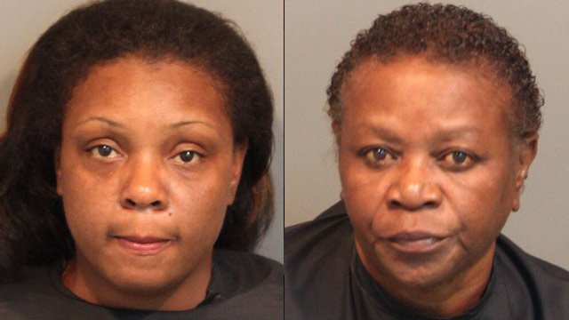 Nartisha Eison (left) and Eva Henderson. (Union Co. Sheriff's Office)