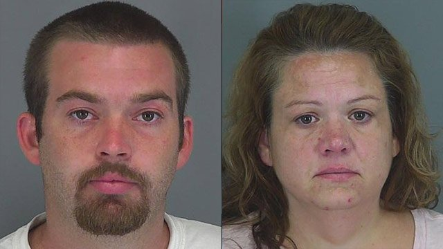 Anthony (left) and Cynthia Kinlaw (Spartanburg Co. Detention Center)