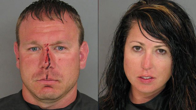 Mark (left) and Jessica Miller. (Anderson Co. Sheriff's Office)