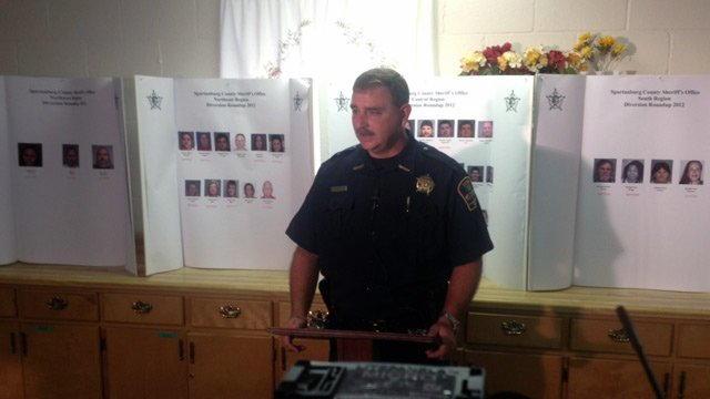 Sheriff Chuck Wright announces Diversion Roundup 2012. (Sept. 4, 2012/FOX Carolina)