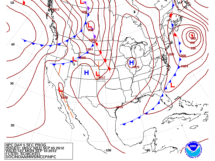 Cold front passes through Sunday.