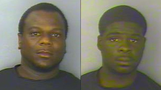 Antwine Anderson (left) and Adrian Gaston (Greenwood Co. Detention Center)