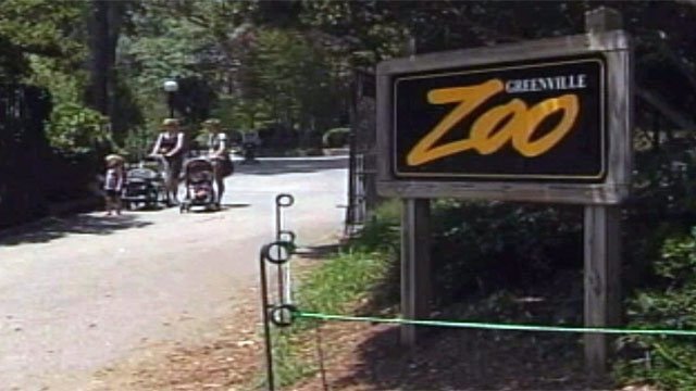 The Greenville Zoo is located next to Cleveland Park in downtown Greenville. (File/FOX Carolina)