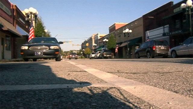 One of Union County's main streets. (Sept. 11, 2012/FOX Carolina)