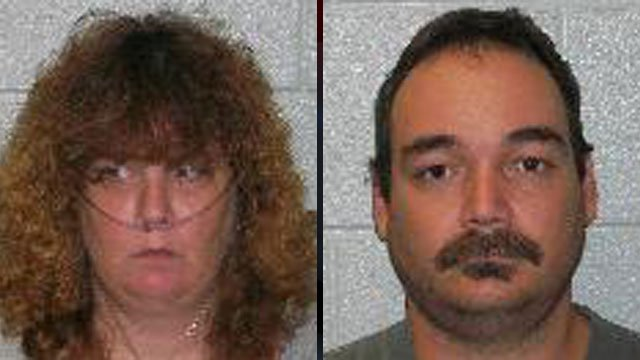 Leann Kelly (left) and William Oliver. (Fletcher Police Dept.)