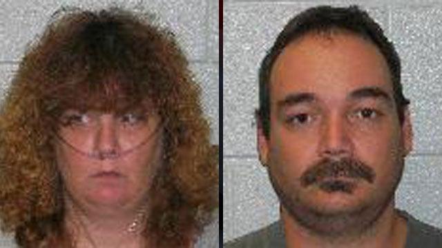 Leann Kelly (left) and William Oliver. (Fletcher Police Dept.)