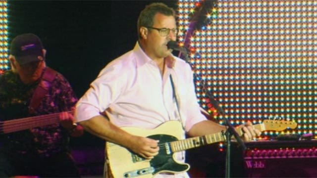 Vince Gill performs on the TD Stage. (Sept. 12, 2012/FOX Carolina)