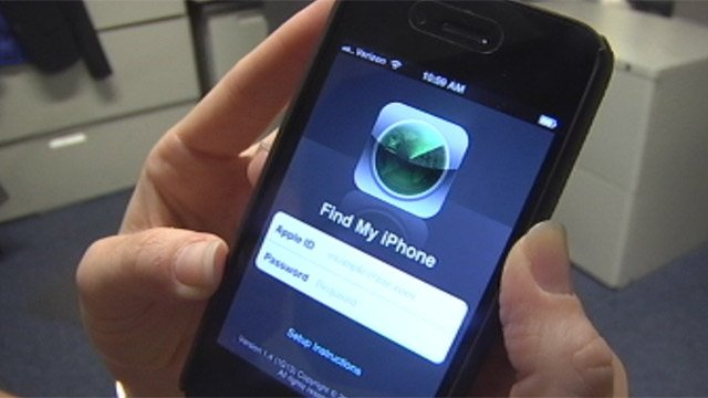 The Find My iPhone app is available on iPhones. (File/FOX Carolina)