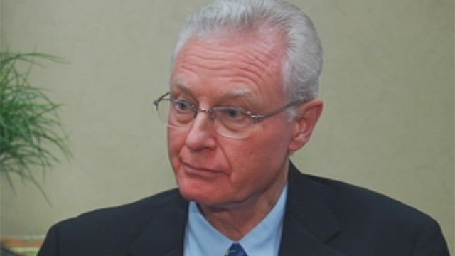 The Chairman of the Government Department at Wofford College, Dr. William DeMars (Sept. 13, 2012/FOX Carolina)