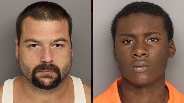 Kenneth Taylor (left) and Timaeus Marshall Jr. (Greenville Co. Sheriff's Office)