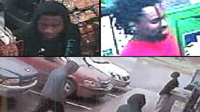 Deputies called the men seen in these pictures people of interest in a robbery at a convenience store. (Sept. 18, 2012/Greenville Co. Sheriff's Office)