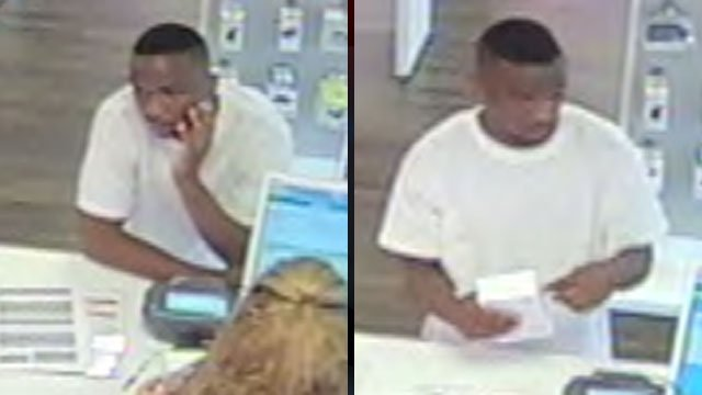 Deputies say this man stole a cell phone from a Greenville store. (Aug. 29, 2012/Greenville Co. Sheriff's Office)