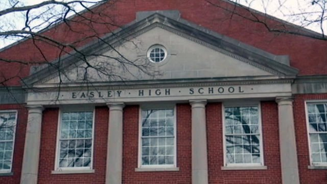 The new middle school will be located at the old Easley High School. (File/FOX Carolina)