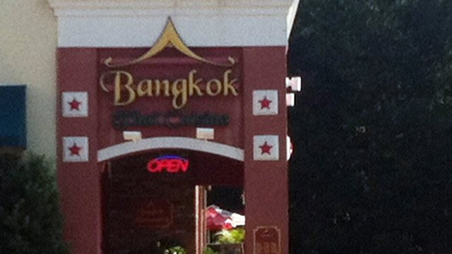 Bangkok Cafe is located on Boiling Springs Road in Boiling Springs. (Sept. 21, 2012/FOX Carolina)