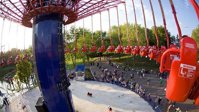 The WindSeeker ride at Cedar Fair's theme park Canada's Wonderland. (File/Wikimedia Commons)