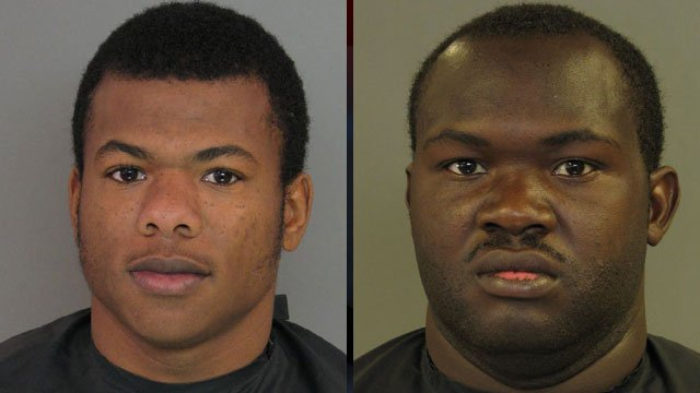 Zedrick Ramsey (left) and Carlos Scott. (Anderson Co. Sheriff's Office)