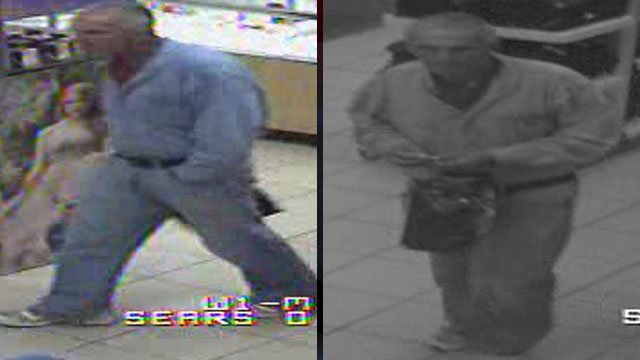 Greenville police say this man tried to shoplift items at Haywood Mall. (Greenville Police Dept.)