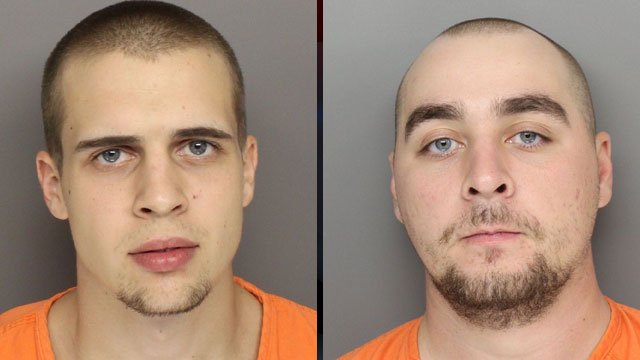 Aaron Terry (left) and Matthew Geiger. (Greenville Co. Sheriff's Office)