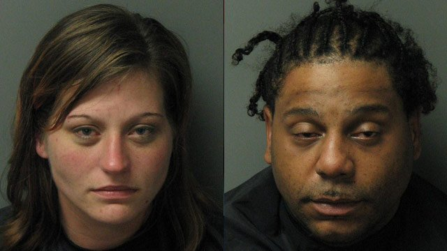 Hollie Henderson (left) and Millard Strickland. (Seneca Police Dept.)
