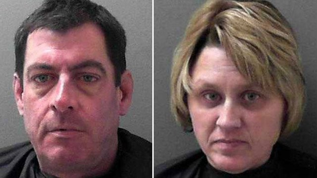 Daniel Fahey and Kimberly Anthony (Pickens Co. Sheriff's Office)