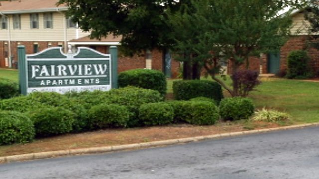 The fatal stabbing happened at the Fairview Apartments on Williamston Rd (Sept. 30, 2012/FOX Carolina)