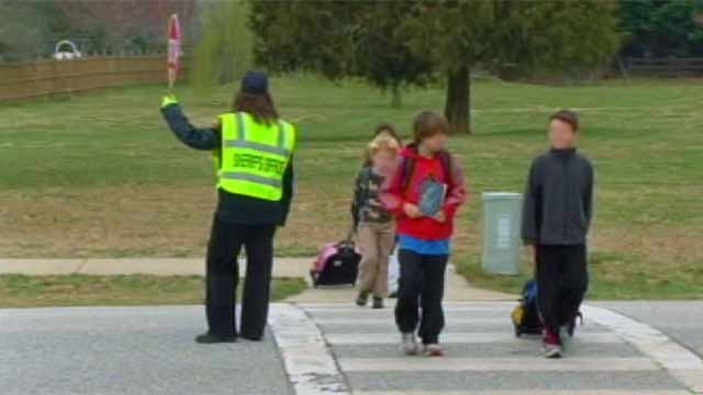 Upstate students walk to school. (File/FOX Carolina)