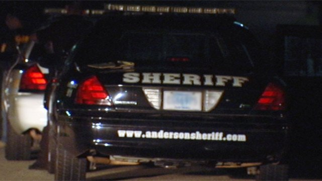 An Anderson County deputy's patrol car at the scene of a shooting. (File/FOX Carolina)