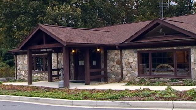 The visitors center and main office at Caesars Head State Park. (Oct. 8, 2012/FOX Carolina)