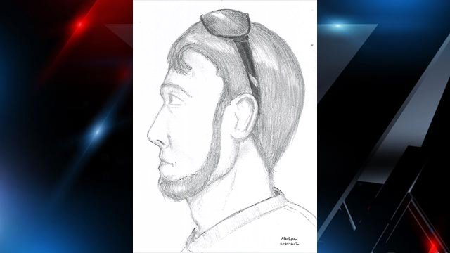 Deputies release a sketch of a possible witness seen around the time of the Wells' deaths. (Greenville Co. Sheriff's Office)
