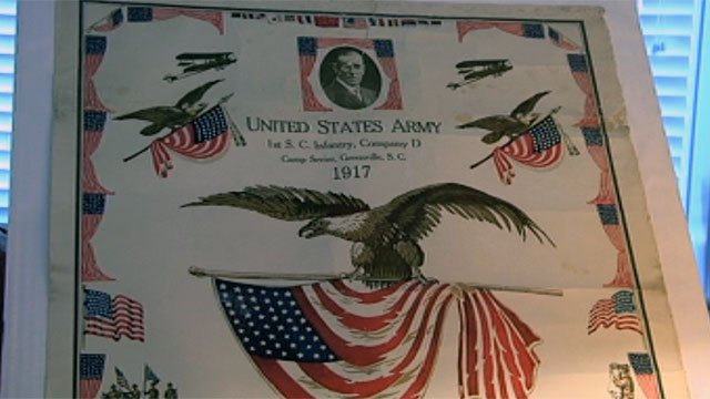 A World War I Army poster the Caldwells found on justajoy.com. (File/FOX Carolina)