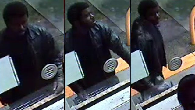 Greenville police say this man used a bank card that recently had been stolen. (Greenville Police Dept.)
